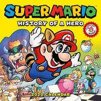 Super Mario Retro 2020 Wall Calendar by Pokemon