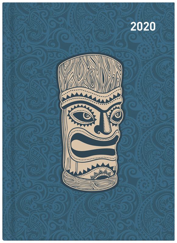 Collins: 2020 Daily A51 Diary - Maori Toanga (Light Blue)