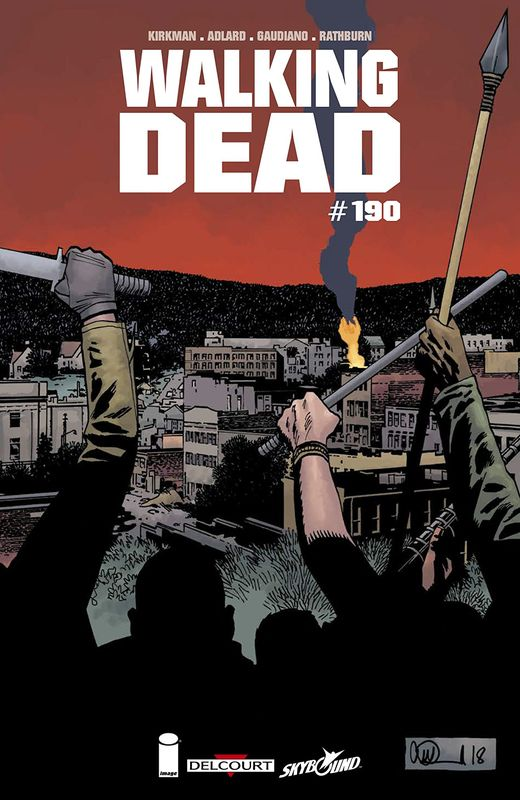 Walking Dead - #190 (Cover A) by Robert Kirkman (A) Stefano Gaudiano