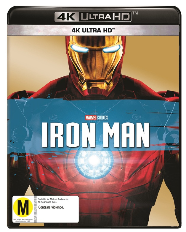 Iron Man on UHD Blu-ray