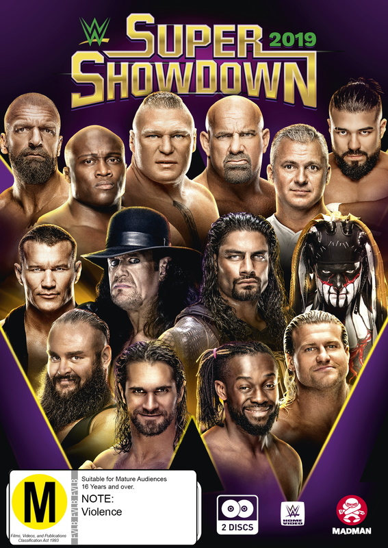 WWE: Super Show-Down 2019 on DVD