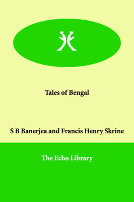 Tales of Bengal by S B Banerjea image