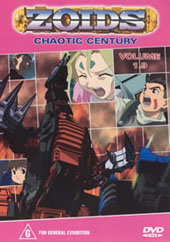 Zoids (Chaotic Century) Vol  1.9 on DVD