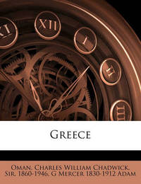 Greece by G Mercer 1830 Adam