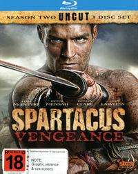 Spartacus Vengeance on Blu-ray