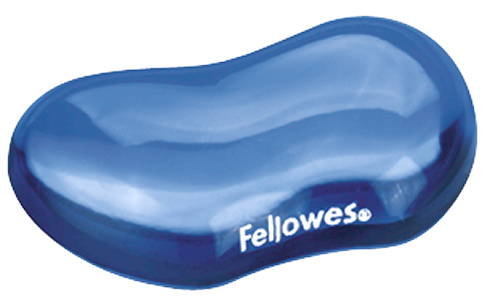 Fellowes Utility Rest - Gel Crystals - Blue image