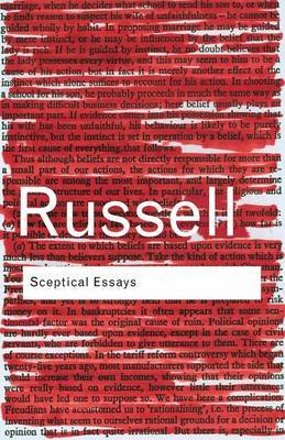 Sceptical Essays by Bertrand Russell image