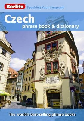 Berlitz: Czech Phrase Book & Dictionary image