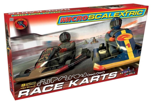 Scalextric: Micro Scalextric - Race Karts Set