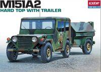Academy 1/35 M151A2 Harp Top & Trailer Kit