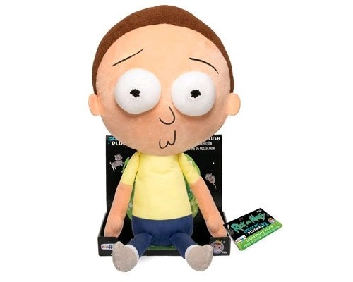 "Rick and Morty: Morty - 16"" Plush image"