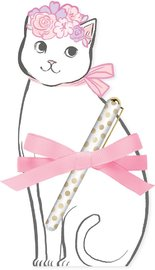 Lady Jayne: Die Cut Notepad - Pretty Kitty