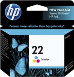 HP 22 Inkjet Print Cartridge C9352AA (Tri Colour)
