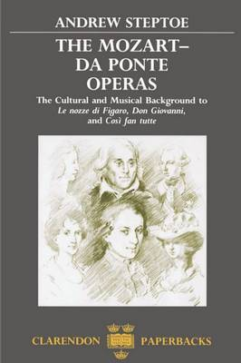 The Mozart-Da Ponte Operas by Andrew Steptoe image