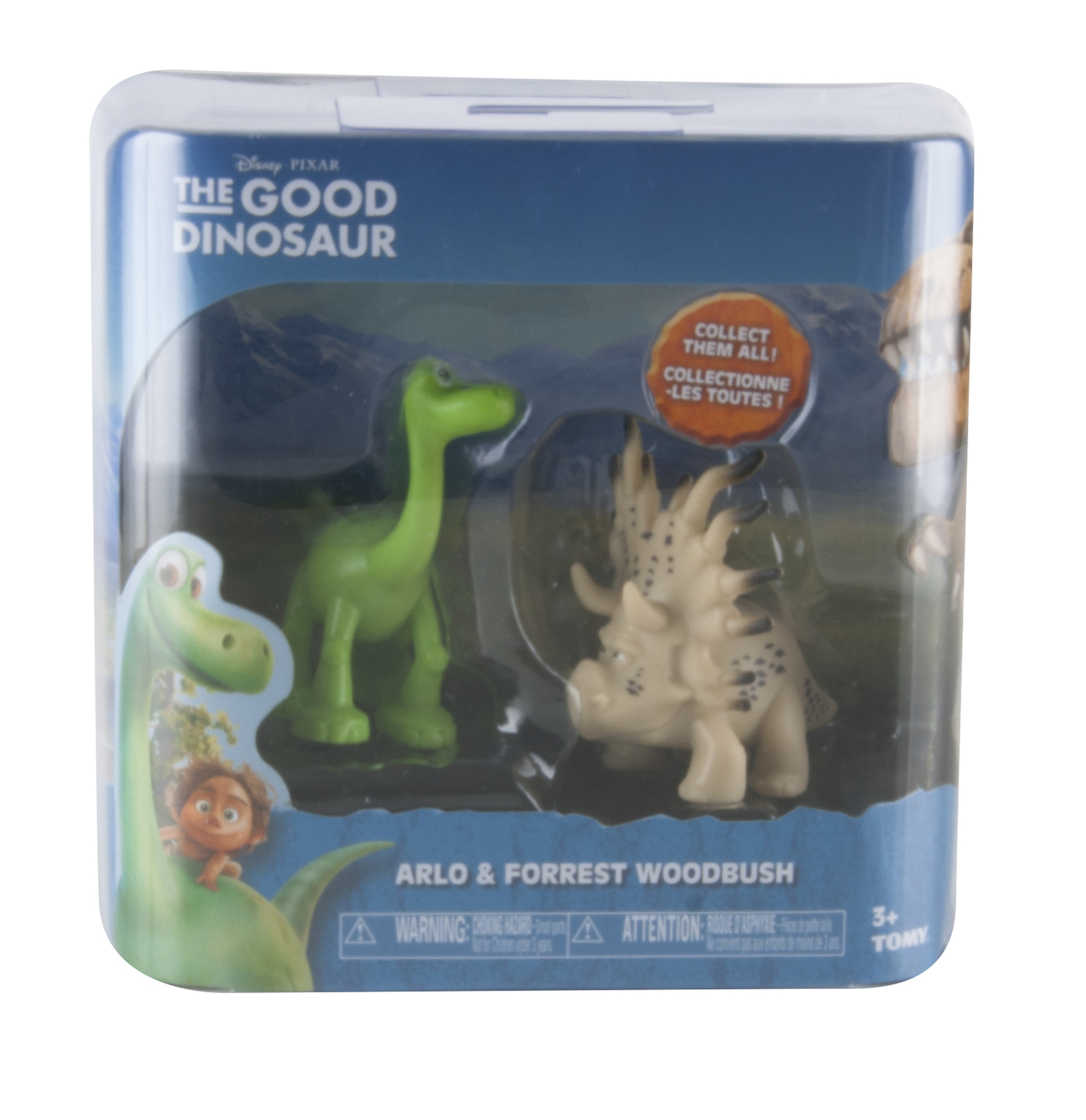 the good dinosaur arlo forrest woodbush collectible figurine 2
