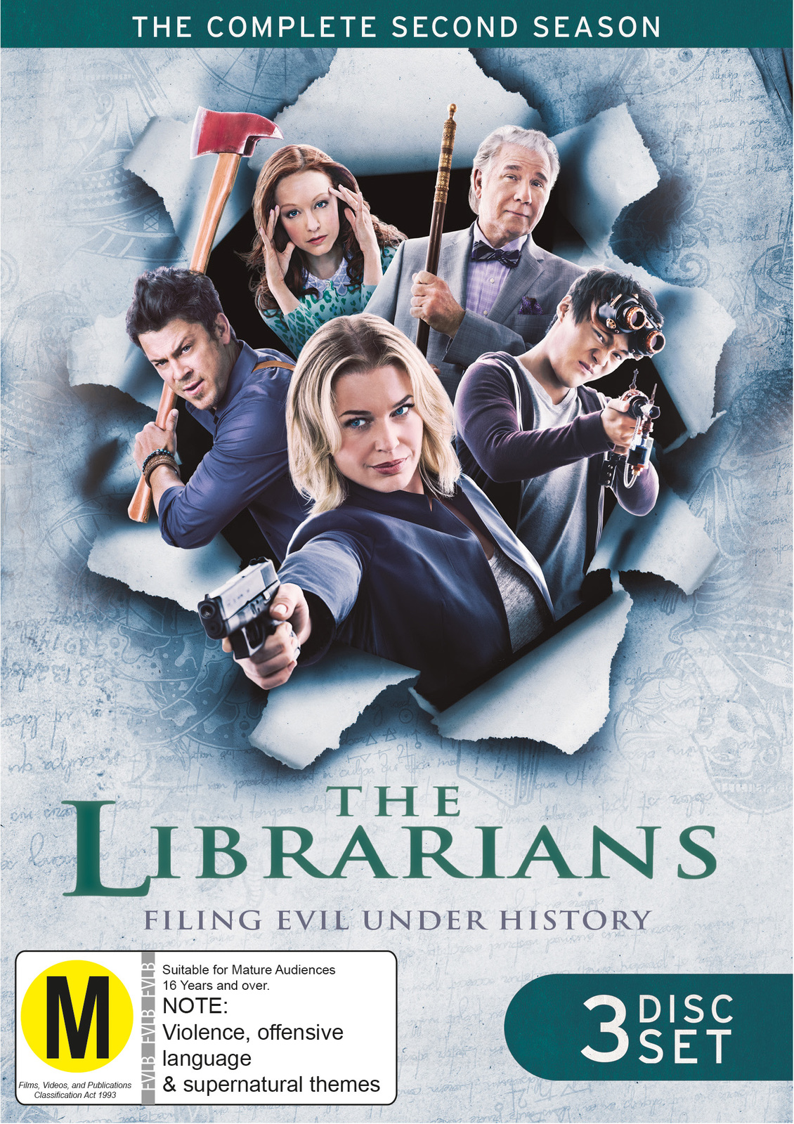 The Librarians - Season 2 on DVD image