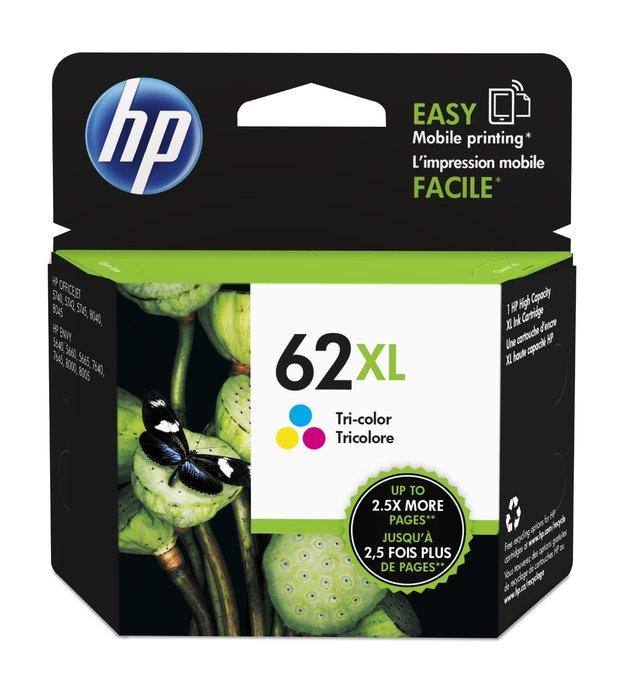 HP 62XL Tri-Colour High Yield Ink Cartridge