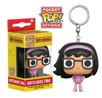 Bob's Burgers - Buttloose Tina Pocket Pop! Keychain