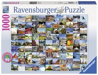 Ravensburger: 99 Beautiful Places 2 - 1000pc Puzzle
