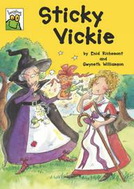 Sticky Vickie: v. 52 by Enid Richemont image