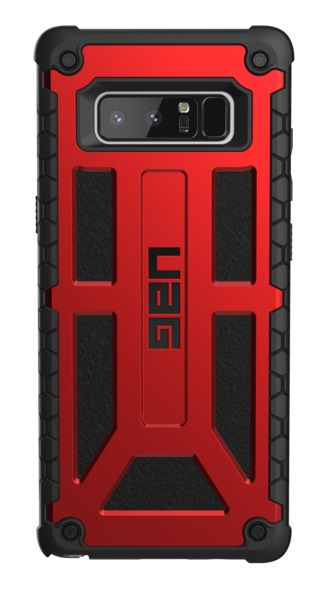 UAG Monarch Case for Galaxy Note 8 (Crimson/Black) image