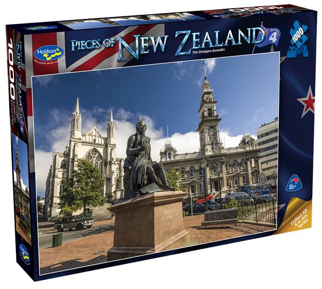 Holdson: Pieces of New Zealand - Series 4 - The Octagon Dunedin - 1000 Piece Puzzle
