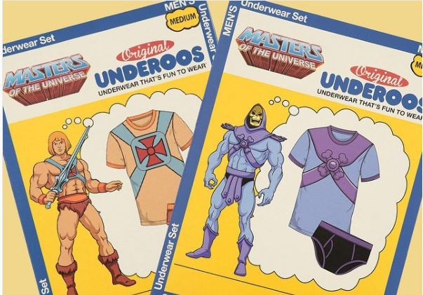 Masters of The Universe Skeletor Underoos Set - Small image