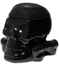Sourpuss: Skull Cookie Jar - Black