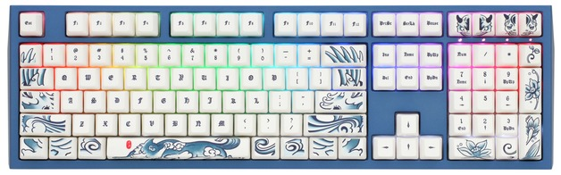 Ducky Year Of The Dog RGB Mechanical Keyboard   at Mighty