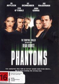 Phantoms on DVD image