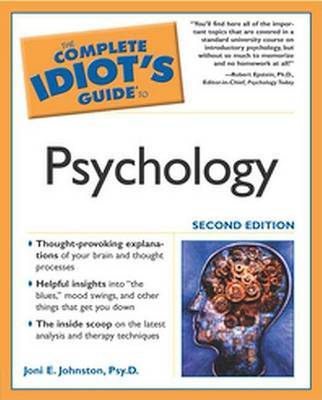 The Complete Idiot's Guide to Psychology by Alpha Books image