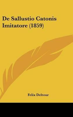 de Sallustio Catonis Imitatore (1859) by Felix Deltour image