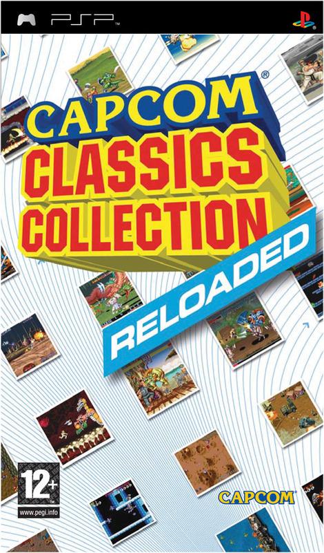 Capcom Classics Collection Reloaded (Essentials) for PSP