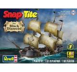 Revell Snap Tite Black Diamond Pirate Ship 1/350 Model Kit
