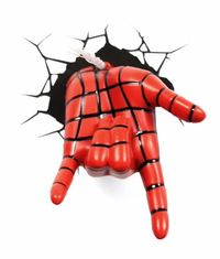 3D Deco Night Light - Spiderman's Hand