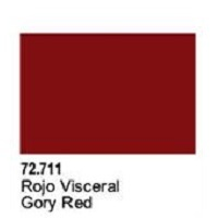 Vallejo Game Air Gory Red Acrylic Paint (17ml)