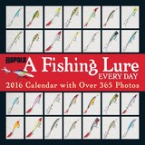 A Fishing Lure Every Day 2016 Wall Calendar by Rapala USA