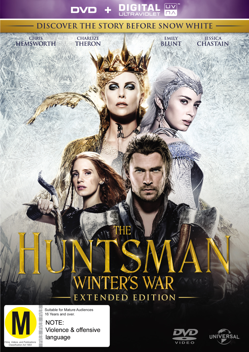 The Huntsman: Winter's War on DVD image