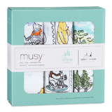 Aden+Anais: Disney Baby Musy - Winnie The Pooh (3 Pack Muslin Squares)