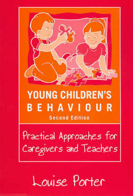 Young Children's Behaviour by Louise Porter image