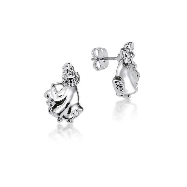 Couture Kingdom: Disney - Princess Snow White Stud Earrings (White Gold)