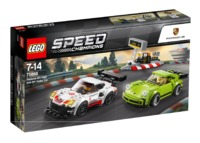 LEGO Speed Champions: Porsche 911 RSR and 911 Turbo 3.0 (75888)