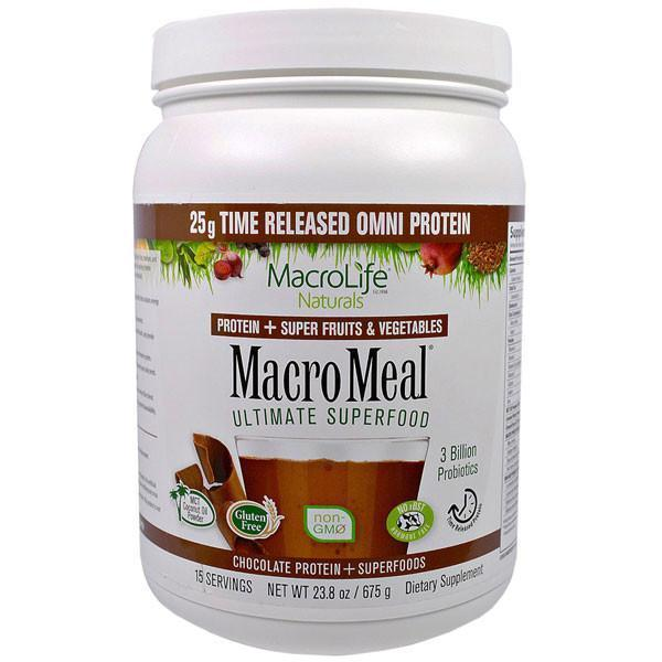 MacroLife Naturals MacroMeal Omni Chocolate 15 (servings) image