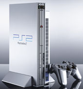 PlayStation 2 Satin Silver Console for PlayStation 2