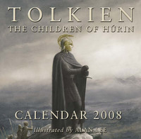 Tolkien Calendar 2008: The Children of Hurin by Alan Lee (ILLUST.) image