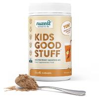 Nuzest Kids Good Stuff Vanilla Caramel Smoothie Mix (225g) image