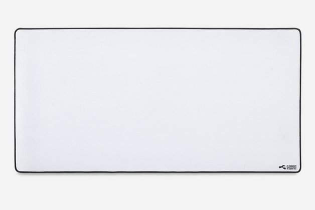 Glorious PC Gaming Mouse Pad - XXL (White) for PC