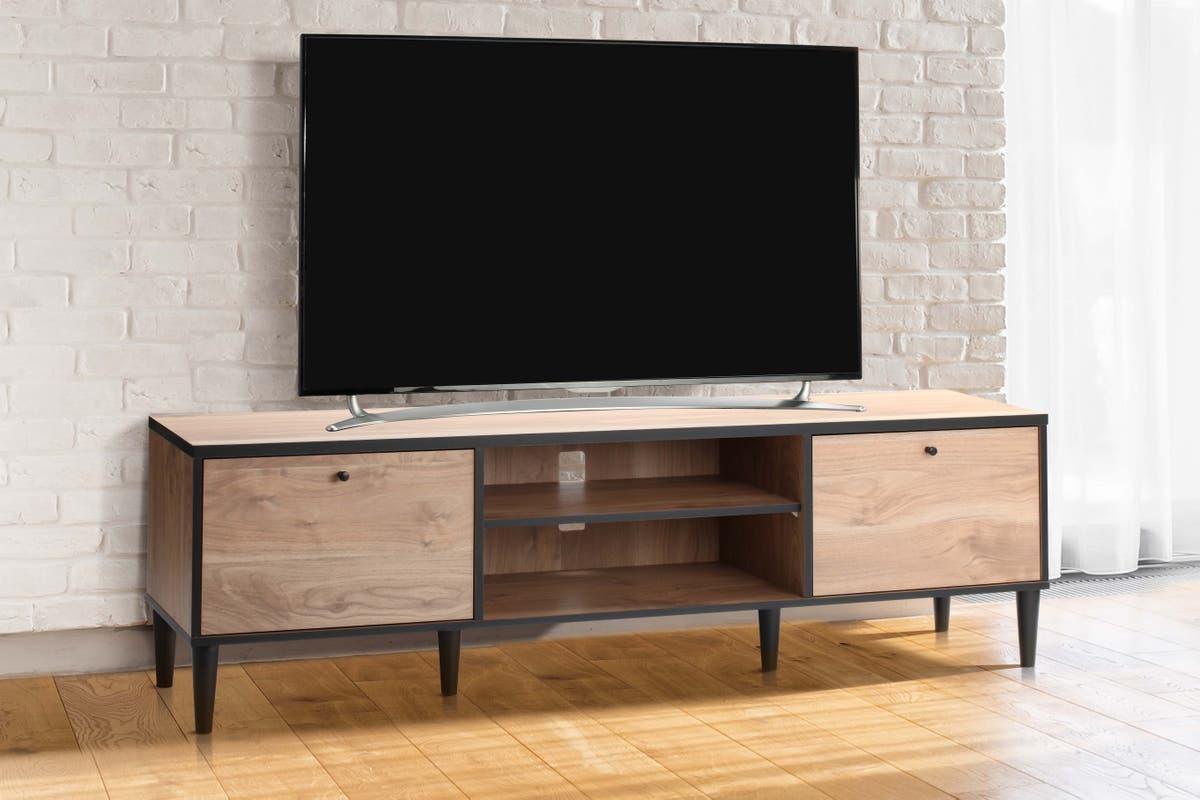 Avalon TV Entertainment Unit (Oak) image