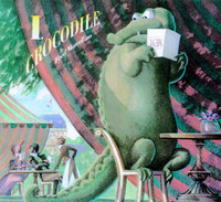 I, Crocodile by Fred Marcellino image