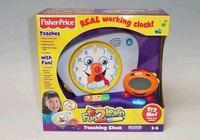 Fisher Price Fun 2 Learn Teaching Clock image